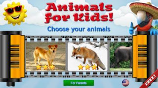 تطبيق, تعليمي, عالي, الجودة, لتعليم, الأطفال, عن, الحيوانات, Animals ,for ,Kids ,3D