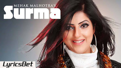 Surma Lyrics - Mehak Malhotra
