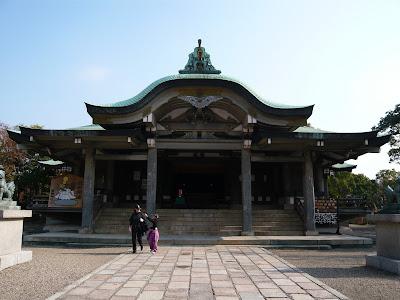 豐國神社(大阪市)拝殿