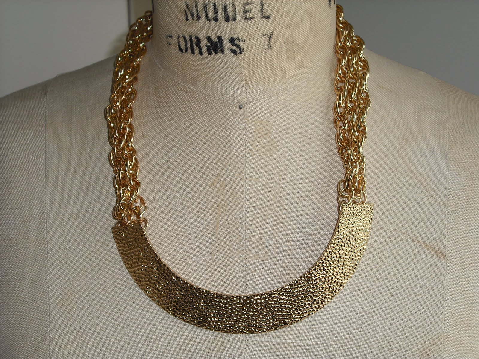 thrift gold chain
