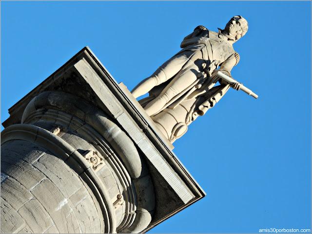 Plaza Jacques Cartier: Monumento al Almirante Nelson