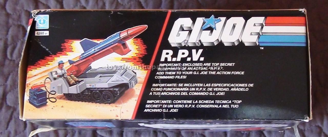 1988 MISSILE RADAR UNIT LAUNCHER RAIL Gi Joe part RPV R.P.V