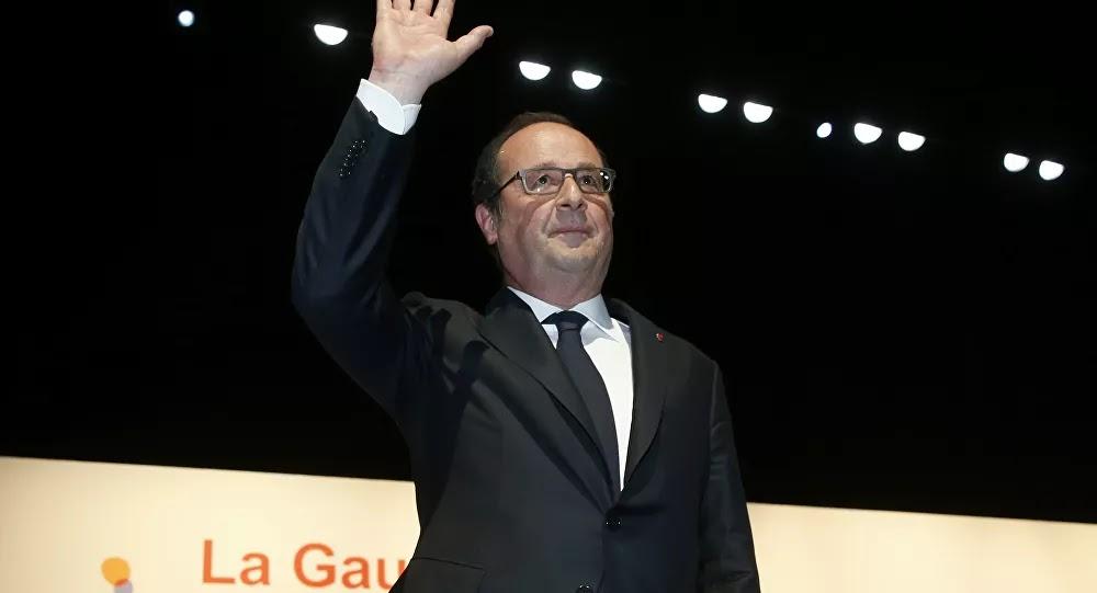 VIDÉO : François Hollande veut «travailler sur le projet présidentiel» en vue de 2022
