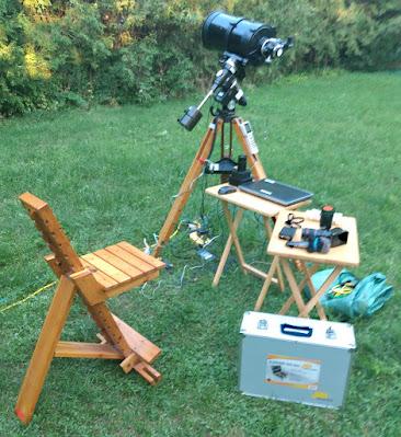 backyard setup stage 1