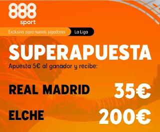 888sport superapuesta Real Madrid vs Elche 13-3-2021