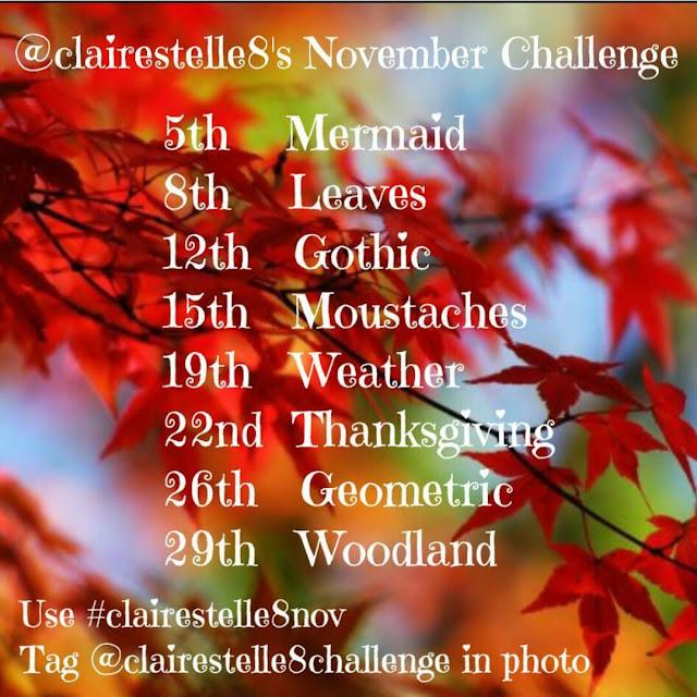 Clairestelle8's November 2016 Challenge
