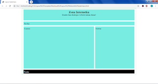 Membuat Layout Website Sederhana Dengan HTML Dan CSS