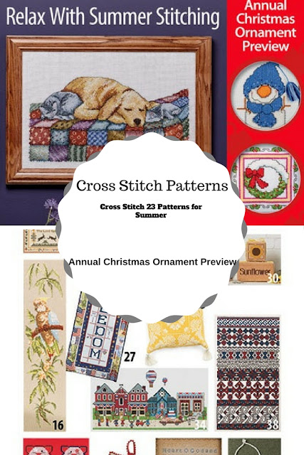 Download 23 Cross Stitch Patterns for Summer