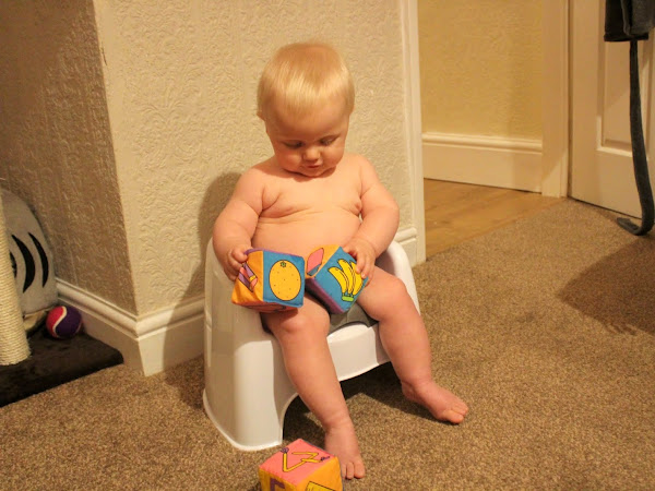 Potty Training an 8 month old (say whaaat?)