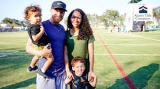 Cole Beasley With His Family