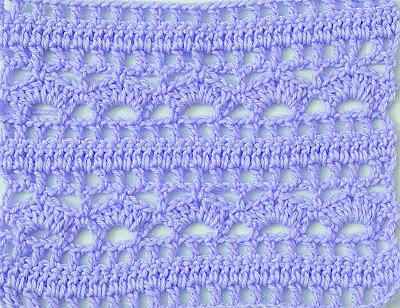 6 - Crochet Imagenes Puntada combinada para blusas y canesú por Majovel Crochet