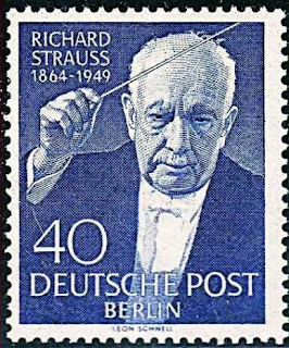 GERMANY BERLIN 1954 FAMOUS CONDUCTOR RICHARD STRAUSS