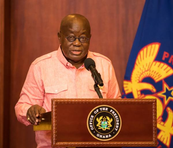 Full Speech: President Akufo-Addo's Address To The Nation On The Dissolution Of The 7th Parliament