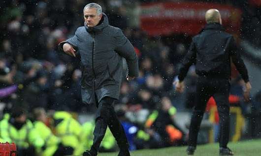 MANCHESTER CITY: JOSE MOURINHO MILK AND WATER THROWN AT HIM WHILE ARTETA ENDS UP CUT