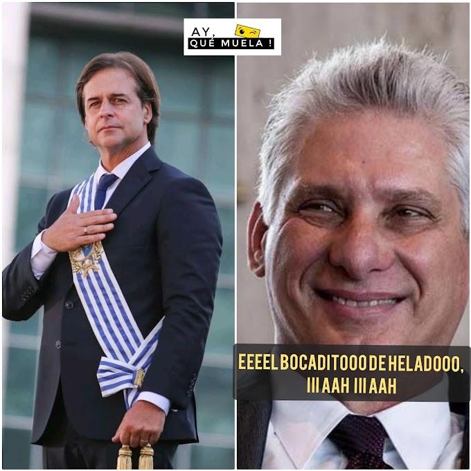 Presidente de Uruguay dice que Díaz-Canel es un asno con garras y que se debería dedicar a tirar de un carrito de helado