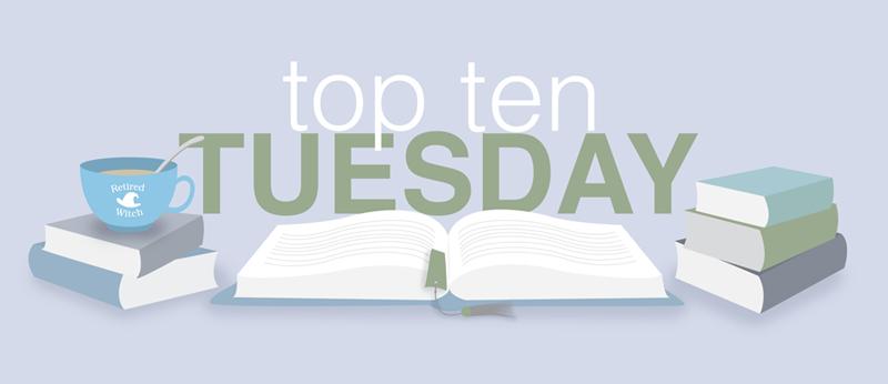 top ten tuesday + books