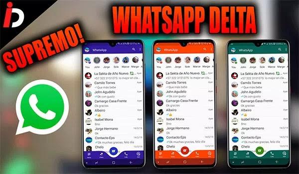 WhatsApp Delta PERSONALIZADO MOD APK