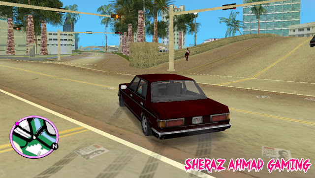 Car Drifting Mod For GTA Vice City - Sheraz Ahmad Gaming