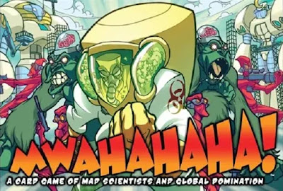 Mwahahaha! - Evil Genius Boardgame