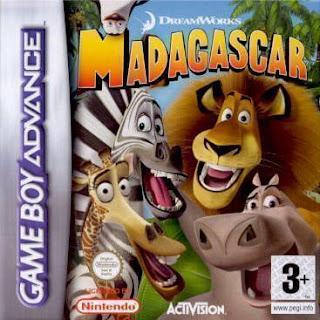 โหลดเกม ROM Madagascar .gba