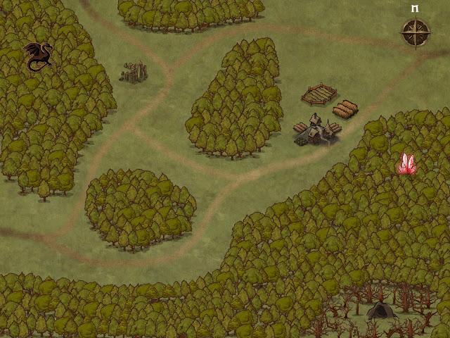 Aventura para Dungeons & Dragons - El Templo de Danara - Mapa General