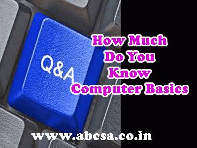 computer basics quiz online