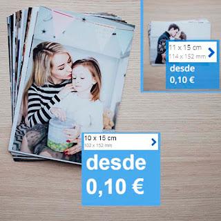 Imprime tus fotos por 10 céntimos