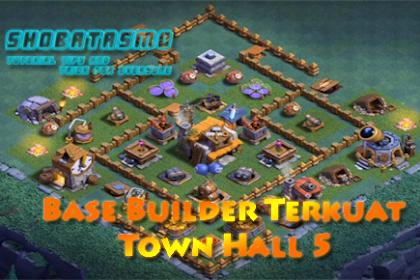 Base Builder Malam Terkuat Town Hall 5