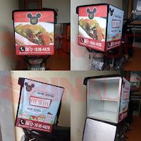 Jual tas delivery makanan Surabaya Mickey