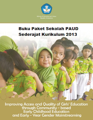 Download Buku Paket Sekolah PAUD Sederajat Kurikulum 2013