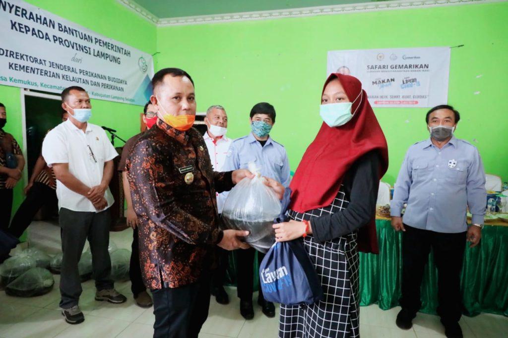 Bersama Kementrian KKP, Nanang ajak Masyarakat Gemarikan