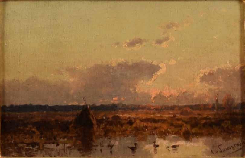 Landscape Paintings by Aleksander Świeszewski ( 1839- 1895)
