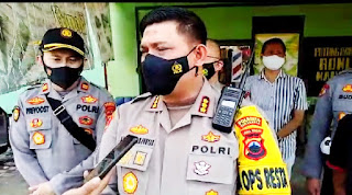 Tegur Prokes Tidak Pakai Masker, Anggota Satlantas Polresta Surakarta Dipukul Pengendara
