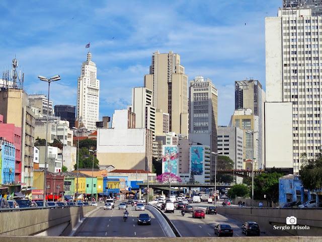 Panorâmica de parte do Centro de São Paulo