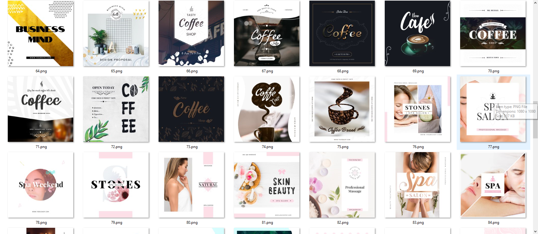 Social Media Instagram Banners Collection is the largest collection of professional open source banners psd