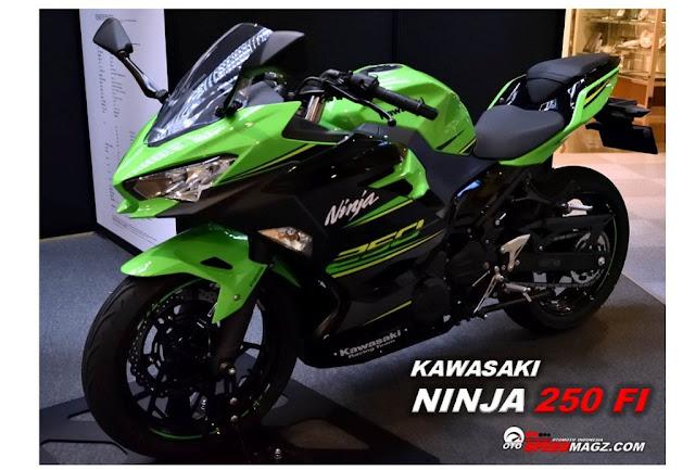 SpesifikasiHarga Ninja 250 FI