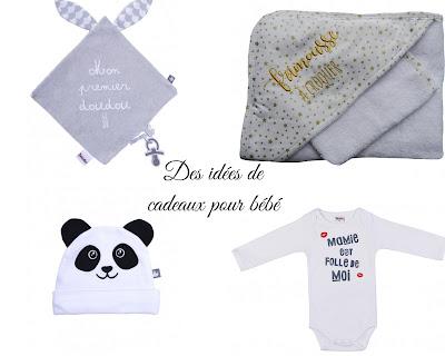 Idée cadeaux pour bébé