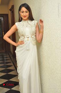 Actress Pragya Jaiswal Stills in Beautiful White Dress at turodu Audio Launch  0005.JPG
