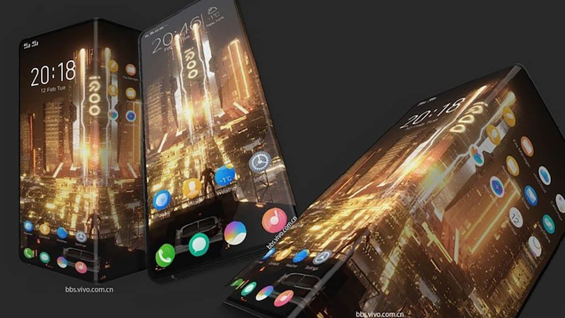 Vivo iQOO's first foldable smartphone images are now here