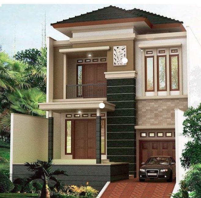 Model Rumah Minimalis 2 Lantai Tampak Mewah Terbaru Blog Informasi