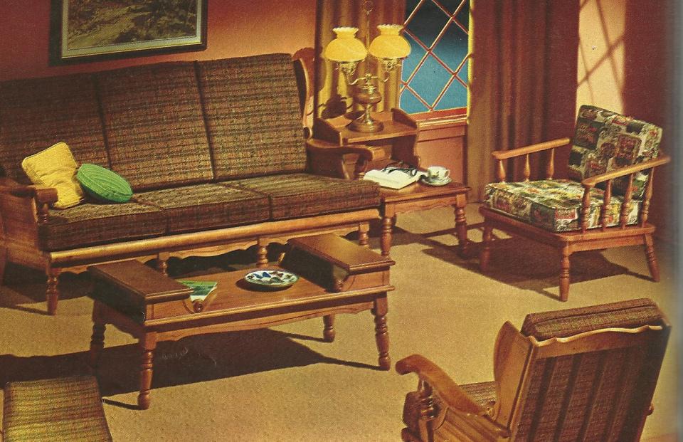 vintage living room furniture sets | My Web Value