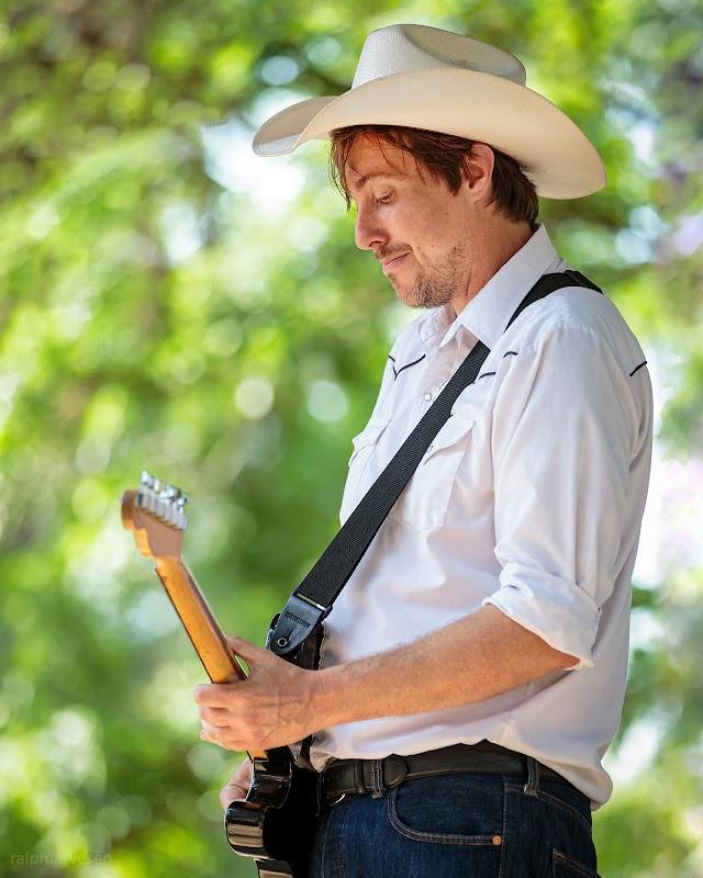 The Merles performing at Luckenbach Texas in Fredericksburg, Texas