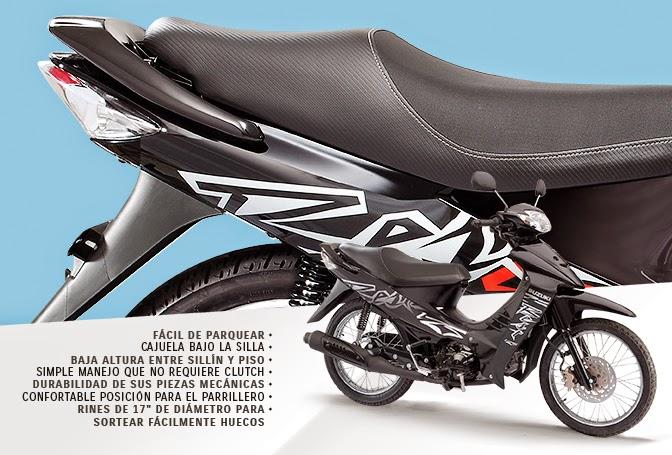 Suzuki BEST 125: Características