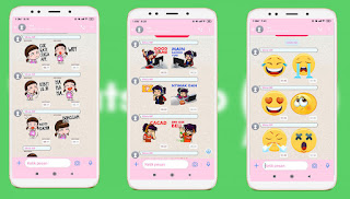 Cara Menambah Stiker Di Fouad Whatsapp Versi Terbaru