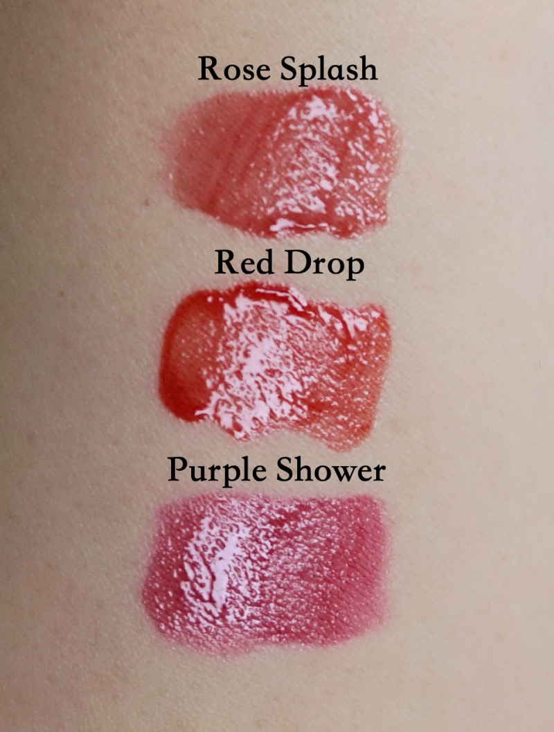 Romand Glasting Water Tint review swatches