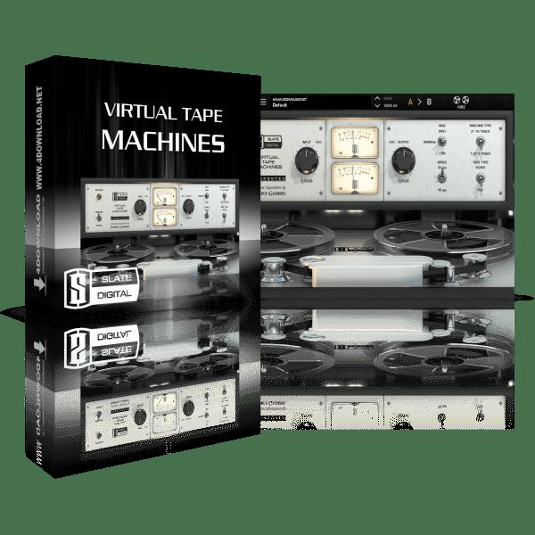 Slate Digital Virtual Tape Machines v1.1.16.3 Full version