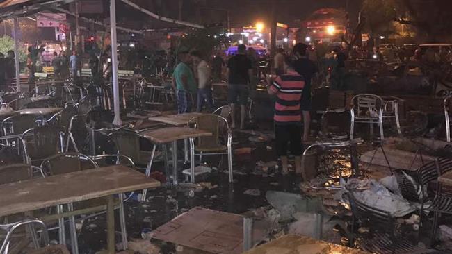 Massive bombings strike heart of  Iraqi capital, Baghdad