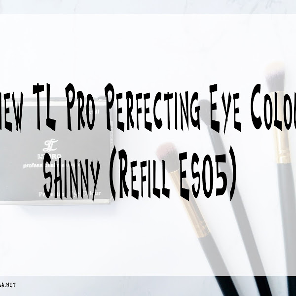 Review LT Pro Perfecting Eye Colour Shinny (Refill ES05)
