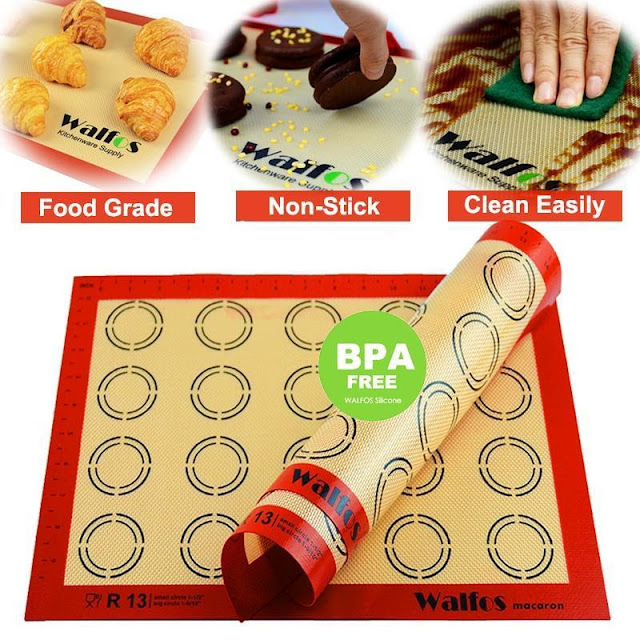 Silicon Non-Stick Baking Sheet with Measurement Guides