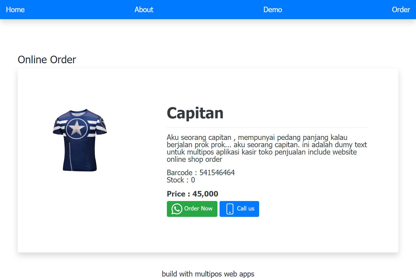 website aplikasi online shop apk android